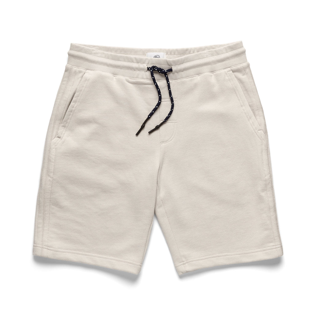 SHORTS - Garment Washed Short - White
