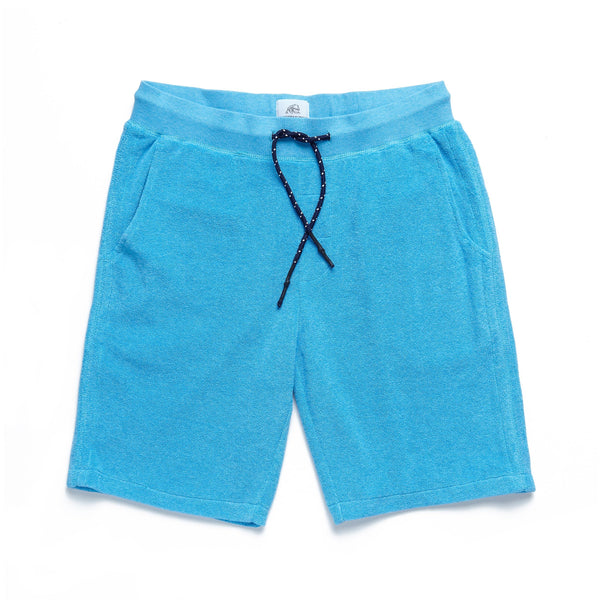 SHORTS - Saltwater Terry Short - River Blue
