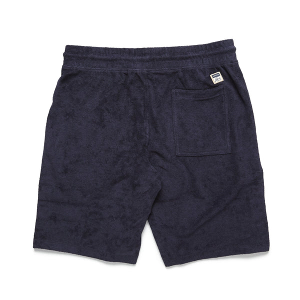 SHORTS - Towel Terry Short - Navy