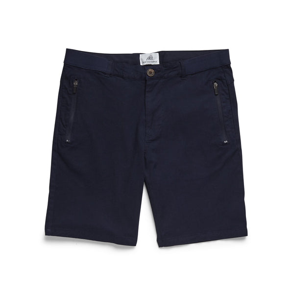 SHORTS - Travel Comfort Woven Short - Navy Blazer
