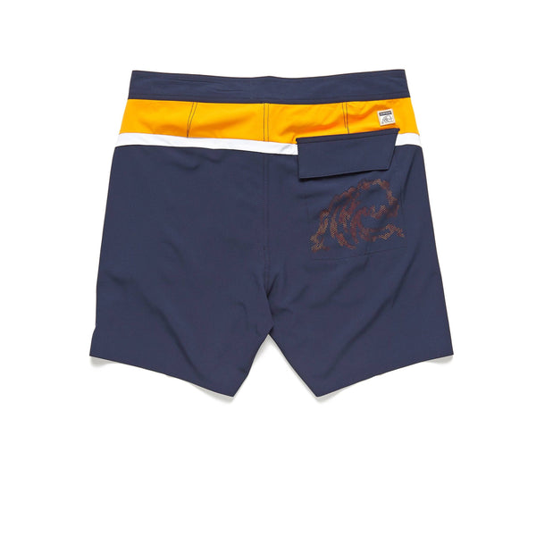 "SWIM - 6.5"" Colorblock Boardshort - Navy Blazer"