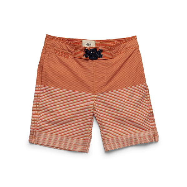 SWIM - Boys Ombre Stripe Boardshort - Koi