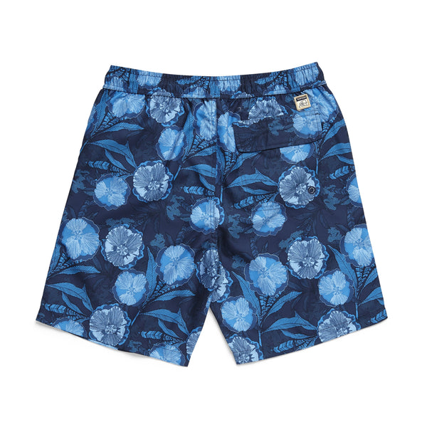 SWIM - Floral Printed Volley - Seaport