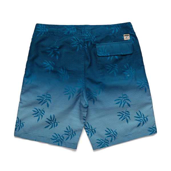 SWIM - Linear Shadow Print Boardshort - Turkish Tile
