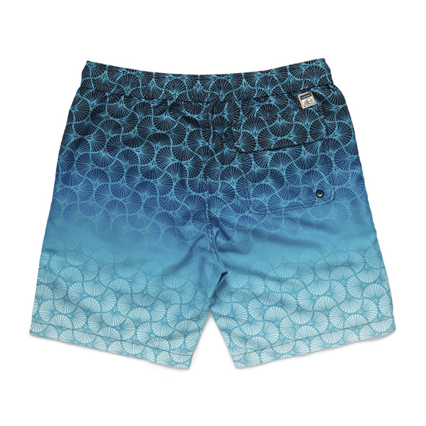SWIM - Shell Gradient Volley Trunk - Turquoise
