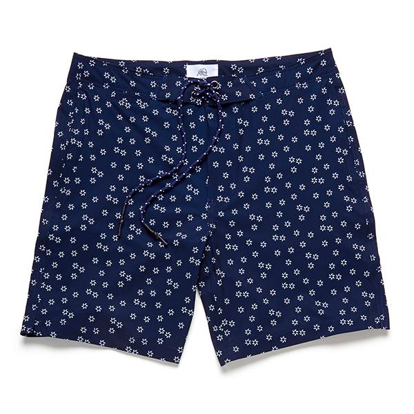 SWIM - Surf Fin 4way Stretch Boardshort - Navy Blazer