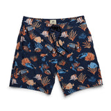 Tropical Fish 4way Stretch Trunk - Navy Blazer