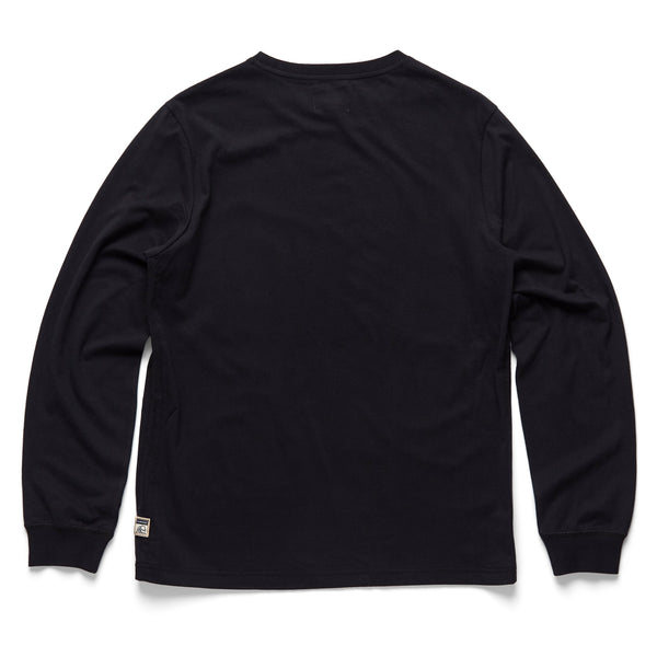 TEES - L/S Photoreal Graphic Tee - Black