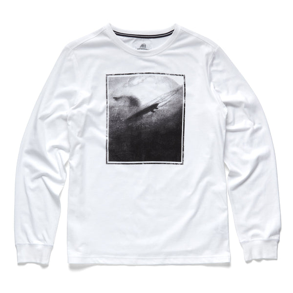 TEES - L/S Photoreal Graphic Tee - White