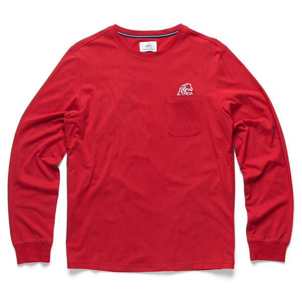 TEES - L/S Surfside Graphic Tee - Red