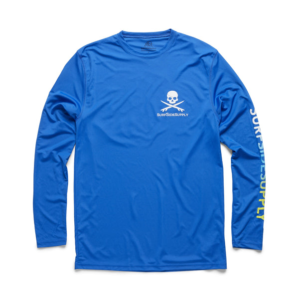 L/S UPF 40 Sun Shirt - Royal Blue