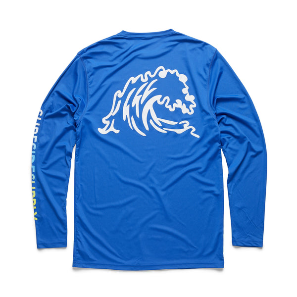 L/S UPF 30 Sun Shirt - Royal Blue