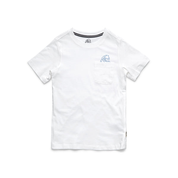 TEES - S/S Boys Local Graphic Tee - White