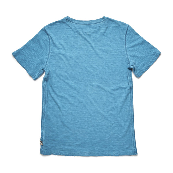 TEES - S/S Cold Dye Graphic Tee - Turquoise