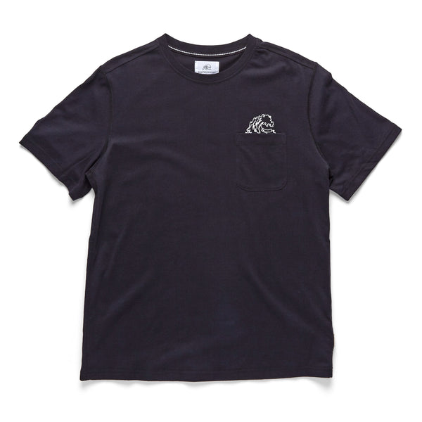 TEES - S/S Embroidered Logo Tee - Black