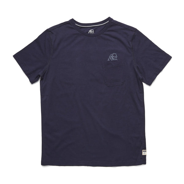 TEES - S/S Graphic Pocket Tee - Navy