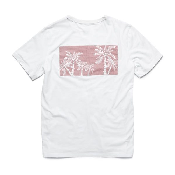 TEES - S/S Graphic Pocket Tee - White
