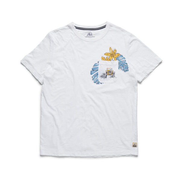 TEES - S/S Jeep Graphic Tee - White