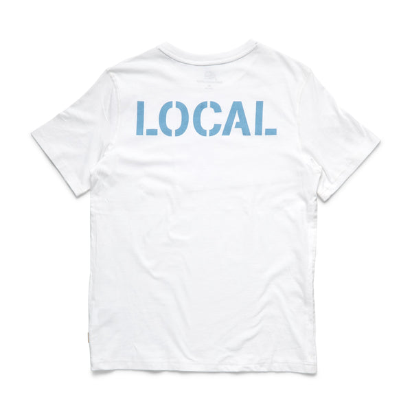 TEES - S/S Local Graphic Tee - White