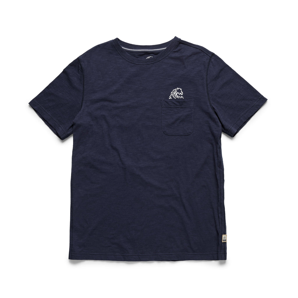 TEES - S/S Surf Sun Graphic Tee - Navy
