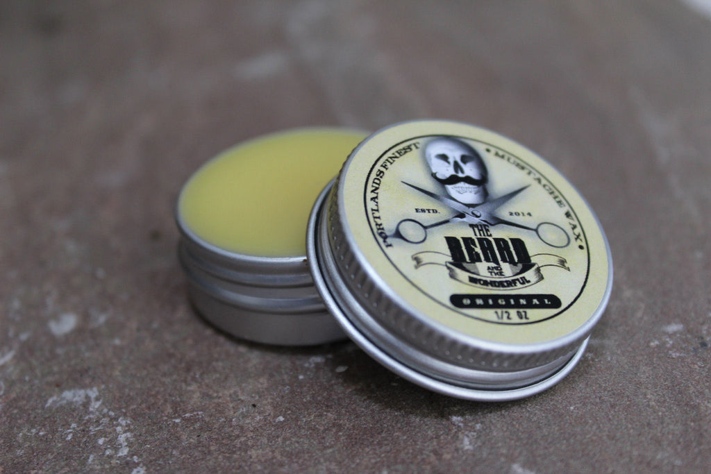 How to use Moustache Wax
