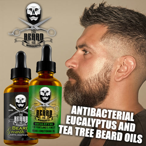 antibacterial beard oil