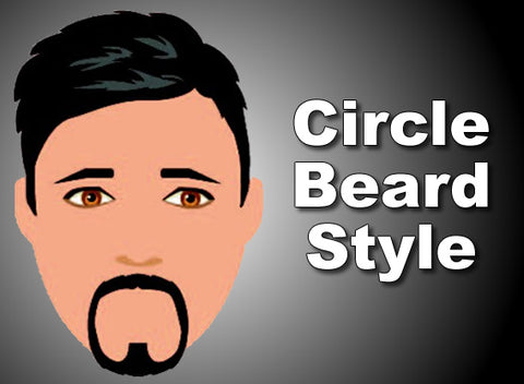 Circle Beard With Round Face
