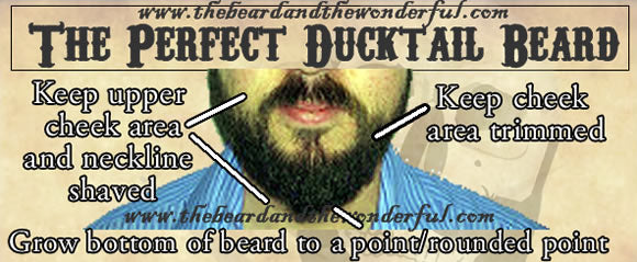 how to grow, trim and style ducktail