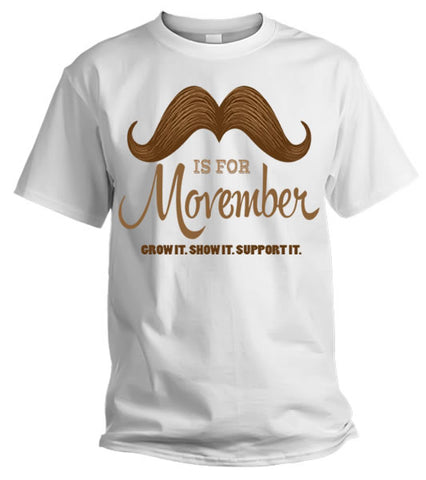 Remember Remember, Its Time For Movember - The Beard and The