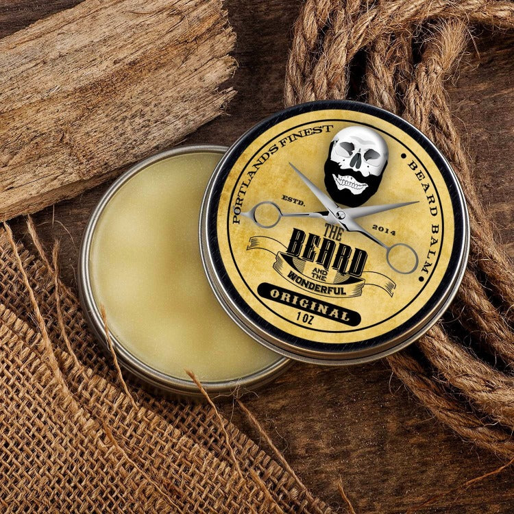 The Beard & The Wonderful, Taming Beard Balm. Large 1 Oz Tins (30ml)