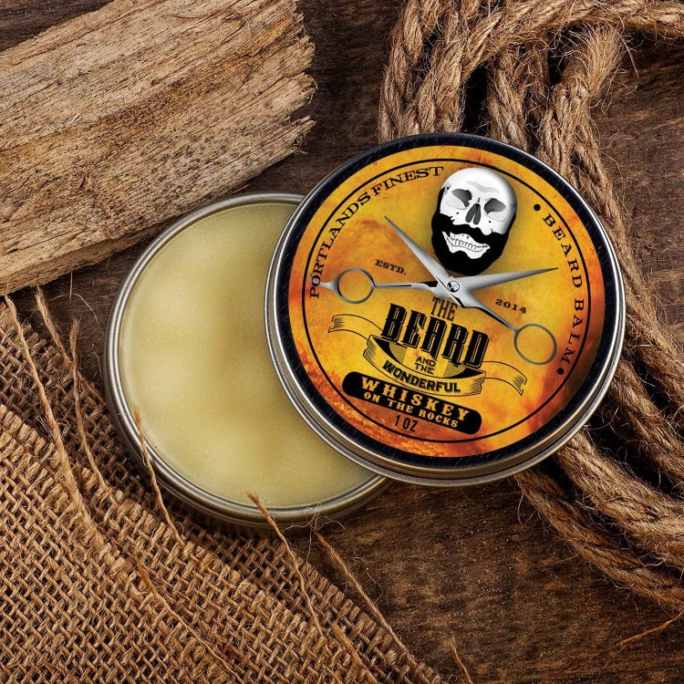 Beard Balm Ultimate Collection Gift Set (6 Tins x 30ml) All Natural Organic