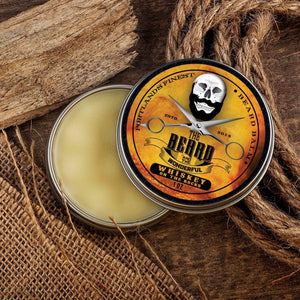 Beard Balm Ultimate Collection Gift Set (6 Tins x 30ml) - All Natural Organic Ingredients in Cedarwood, Whiskey on the Rocks, Sweet Orange, Eucalyptus, Lemongrass and Original Lo-scent.