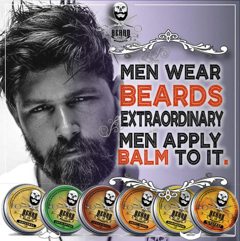 Image of Beard Balm Ultimate Collection (6 Tins x 30ml) All Natural Organic