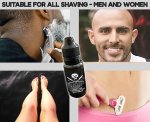 Natural Shaving Oil - Heal, Protect, Soothe, Moisturise, Nourish with Teatree Oil, Eucalyptus Oil, Jojoba and Hemp Seed Oil Use as a Pre Shave Oil or Post Shave Moisturiser
