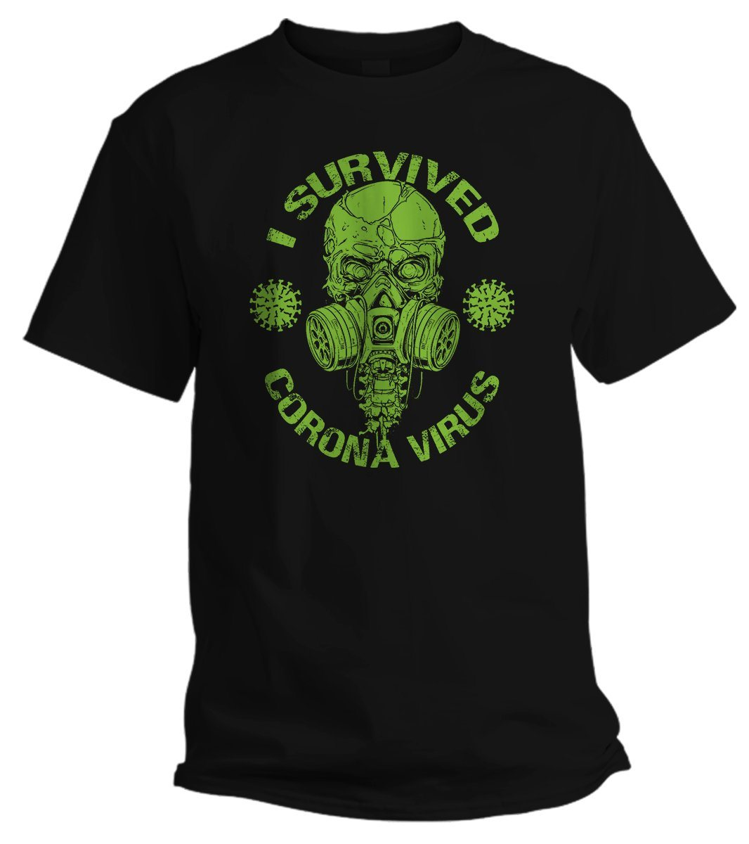 I Survived Corona Virus T Shirt