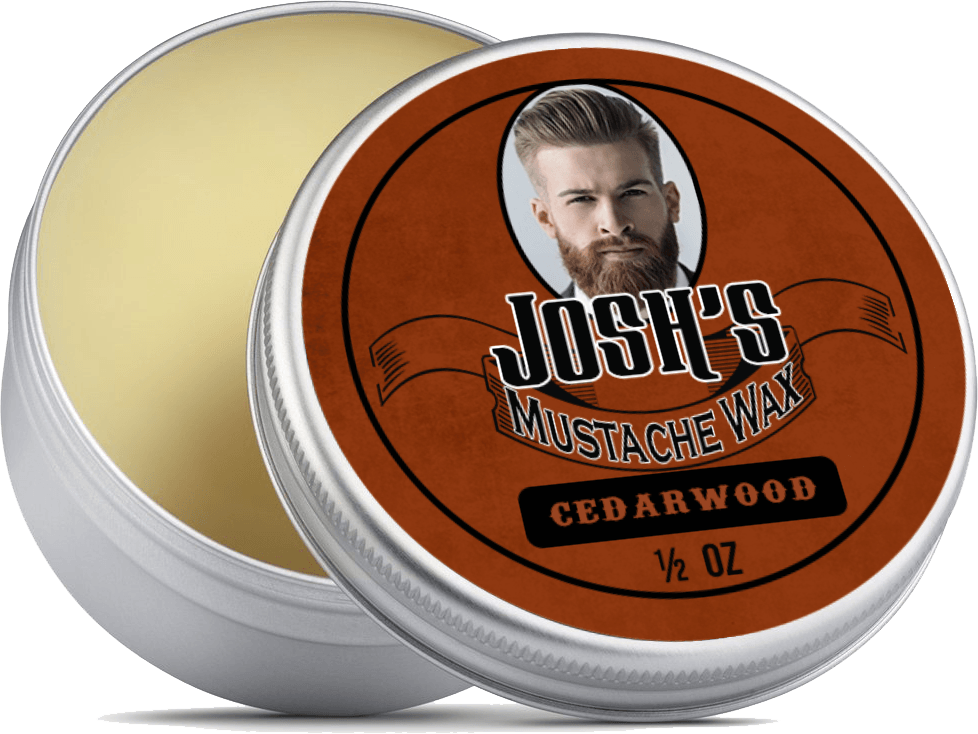 Personalised Moustache Wax Set - Custom face Picture and Name on Each tin 6x15ml Tins Premium Strong Wax for Men - for Styling Twists,Points & Curls - in 6 Great Fragrances