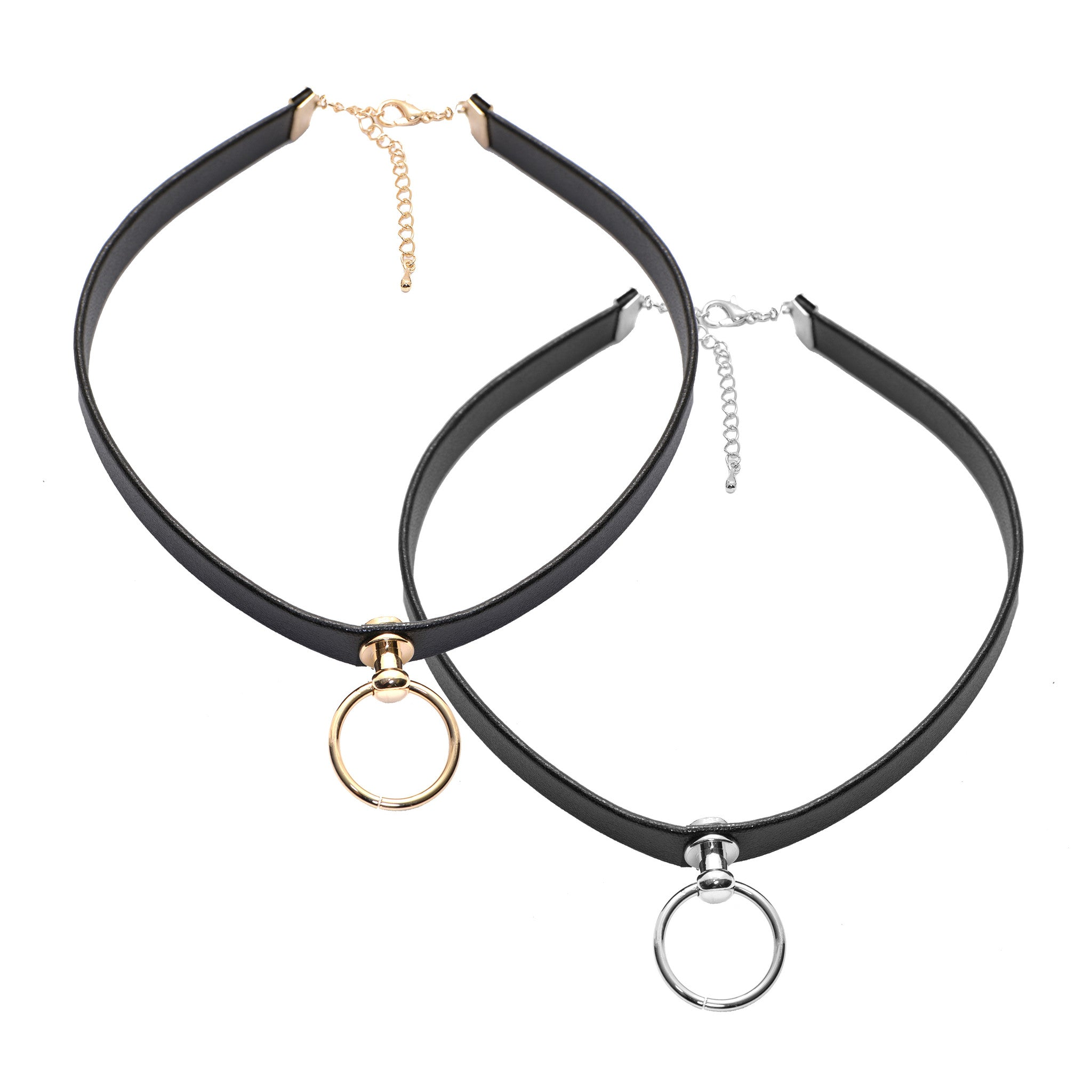 ad9f329f25a26 Slave to Love Collar Black Leather Choker Necklace