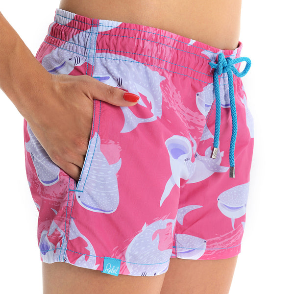 Whale Shark Beach Shorts
