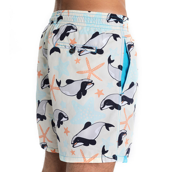 Maui Dolphin Swim Shorts