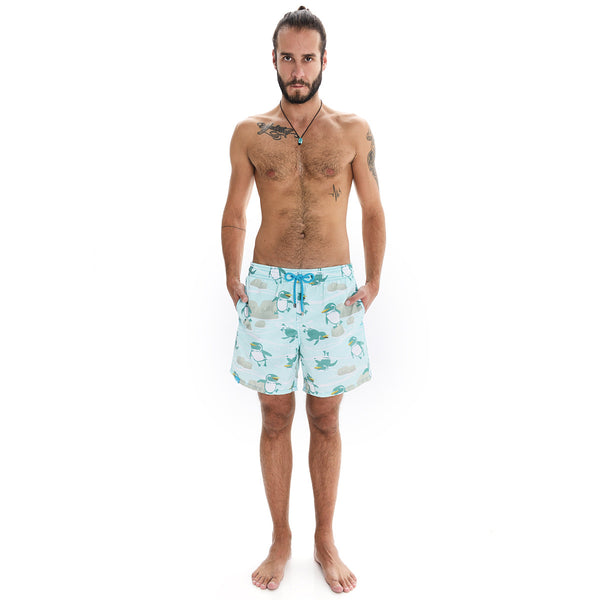 Galapagos Penguin Swim Shorts