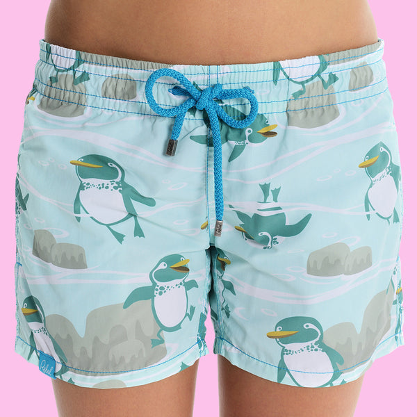Galapagos Penguin Beach Shorts