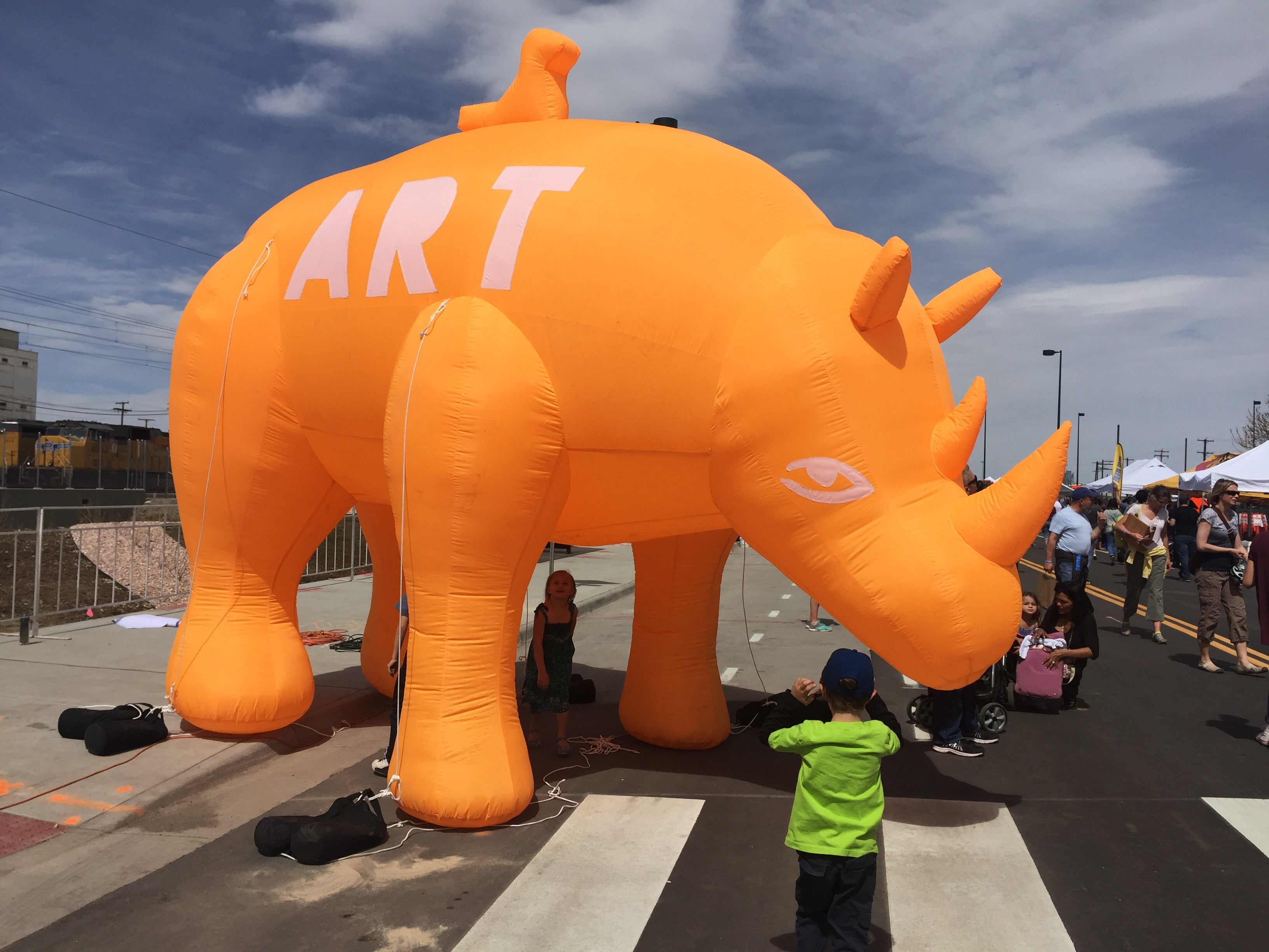 Orange Rhino Kids Art | Denver Spring Flea