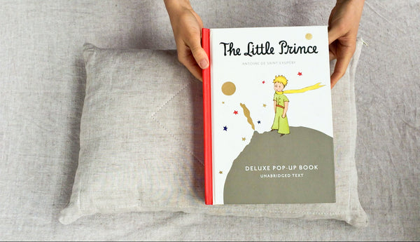 Tiny Pillow Pop Up Bedtime Story by Wholesome Linen