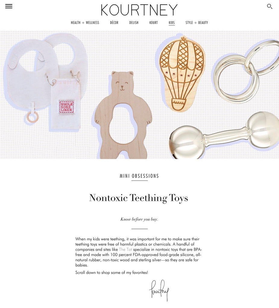 Nontoxic Teething Toys