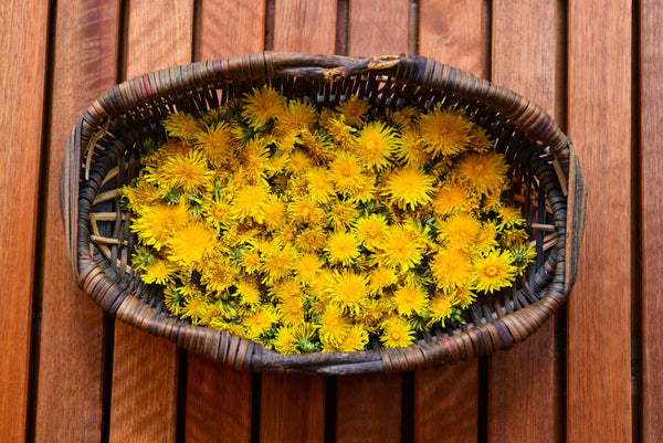 Wholesome Linen Blog - How To Make Jam from Dandelion Flowers and Flax Seeds