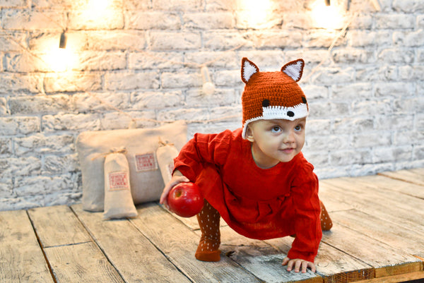 Lil Red Fox - Wholesome Linen Eco Halloween Costume