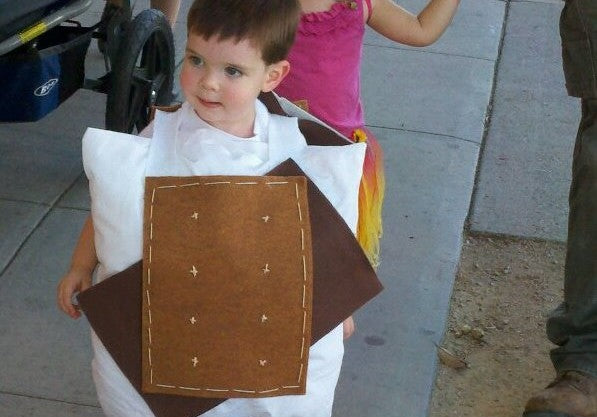 Lil Yummy S'mores - DIY Wholesome Eco Halloween Costume
