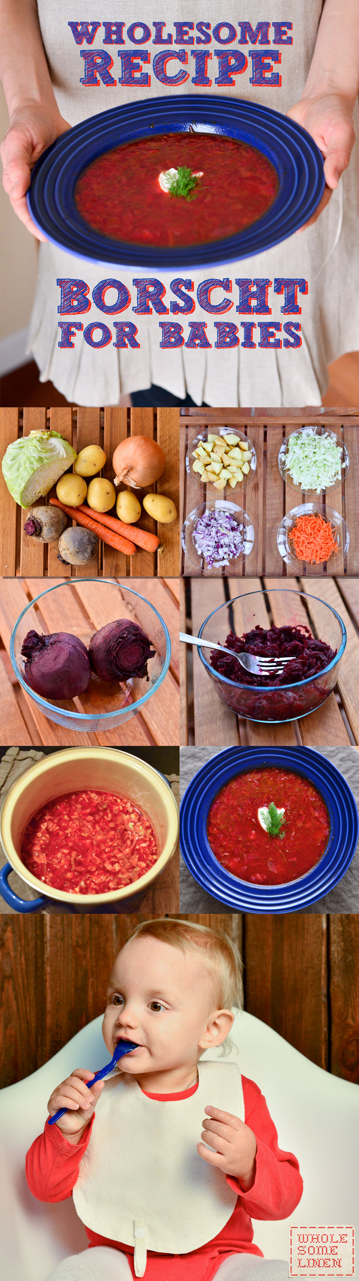 Wholesome Borscht Recipe for Babies