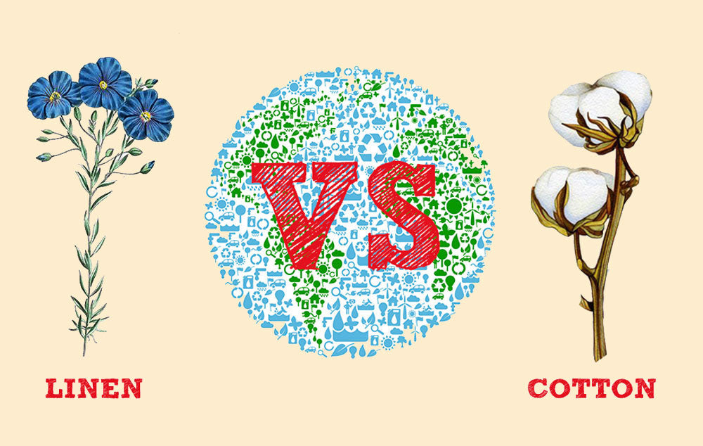 Earth Day: Linen vs Cotton Fabric - Wholesome Linen Blog