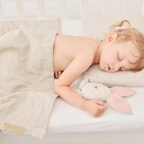 Organic Quilt & Pillow Toddler Travel Set - Wholesome Linen